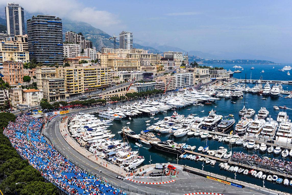 Grand Prix Monaco - Yacht charter Scuderia