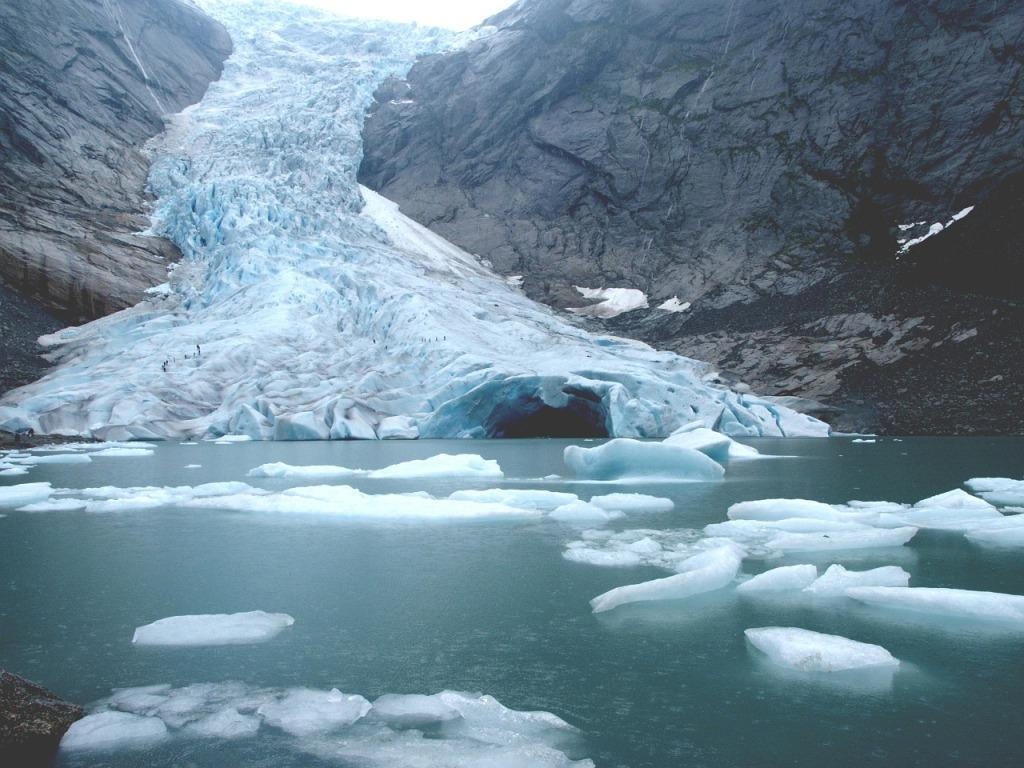 Norvège - Briksdal glacier