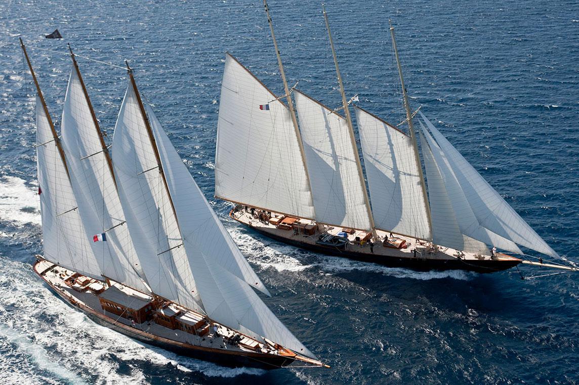 Voiles de St Tropez - Yacht charter Scuderia